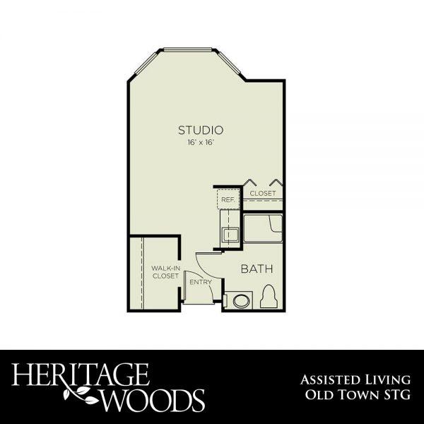 Heritage Woods AL Old Town floor plan