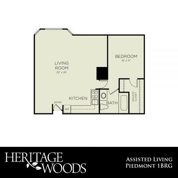 Heritage Woods AL Piedmont floor plan