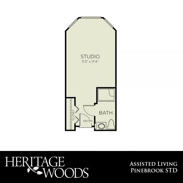 Heritage Woods AL Pinebrook floor plan