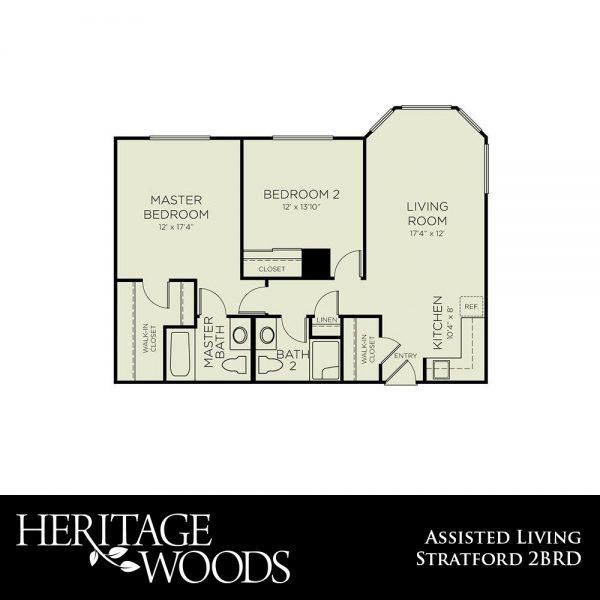 Heritage Woods AL Stratford floor plan