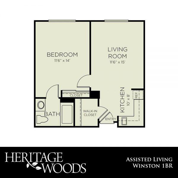 Heritage Woods Winston floor plan