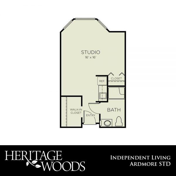 Heritage Woods Ardmore floor plan