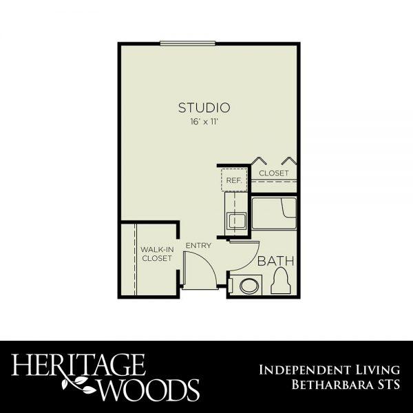 Heritage Woods Bertharbara floor plan
