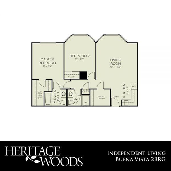 Heritage Woods Beuna Vista floor plan