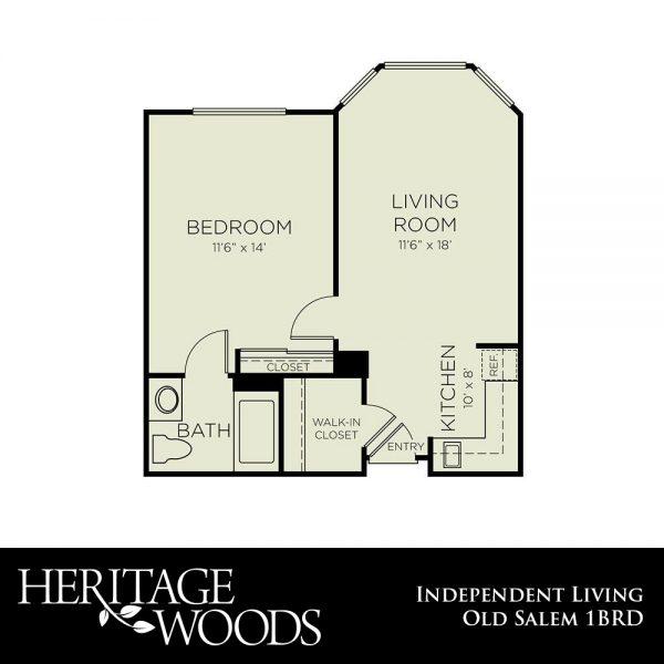 Heritage Woods Old Salem floor plan