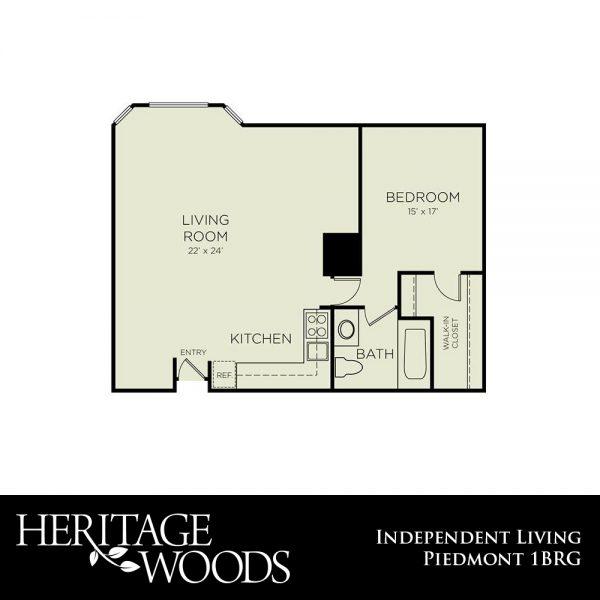 Heritage Woods Piedmont floor plan