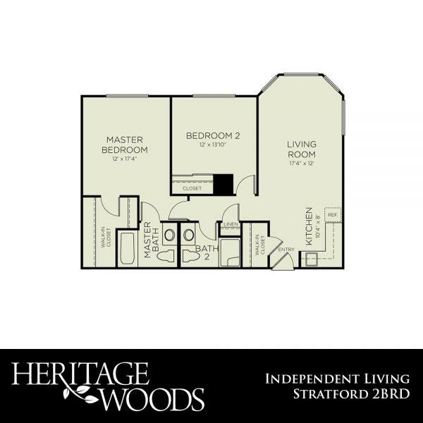 Heritage Woods Stratford floor plan
