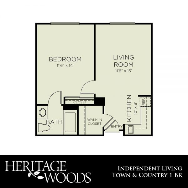 Heritage Woods Town and Country floor plan