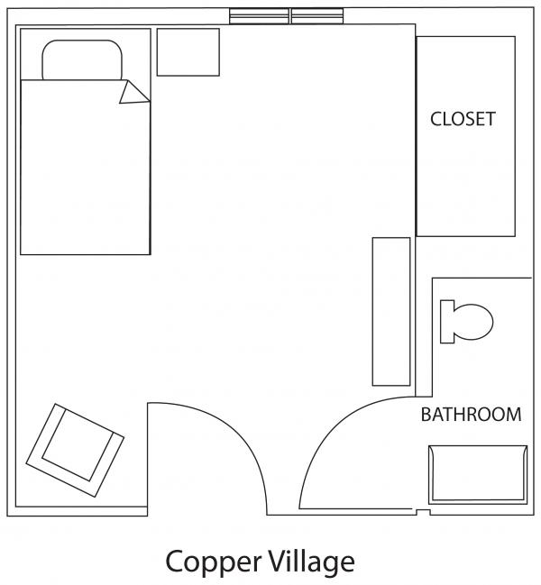 Copper Village floor plan