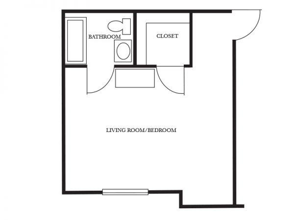 Regency Retirement Village - Birmingham Windsor floor plan