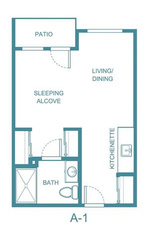 Rocky Ridge floor plan 1