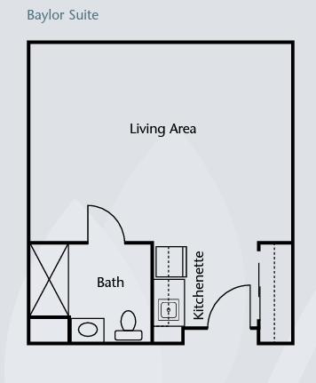 Brookdale Lake Brazos floor plan 1