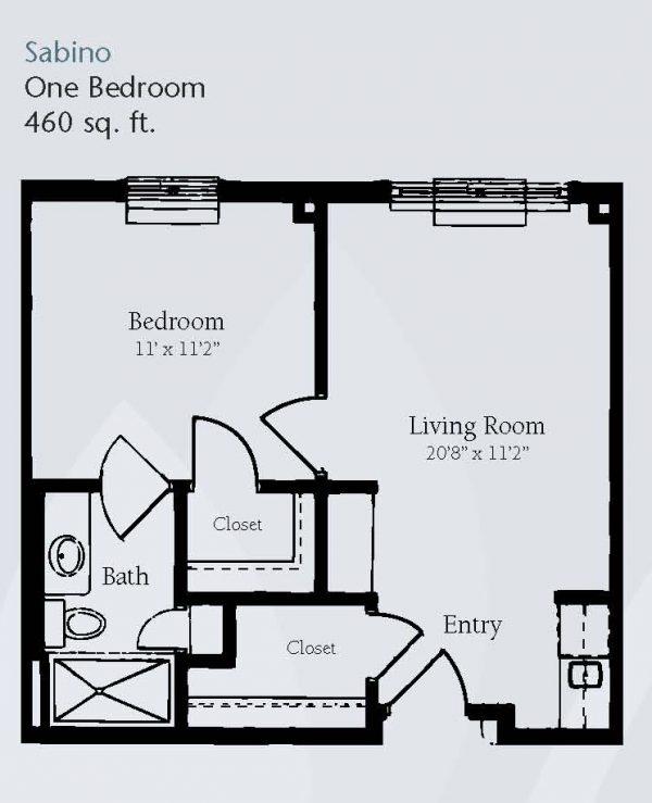 Brookdale Santa Catalina floor plan 10