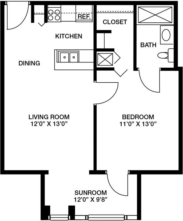 Westminster Village floor plan 2