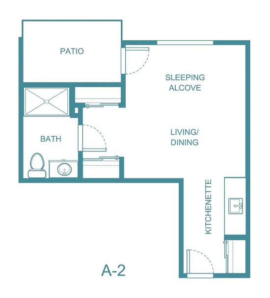 Apple Blossom floor plan 2