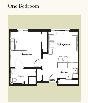 Atria Grapevine floor plan 2