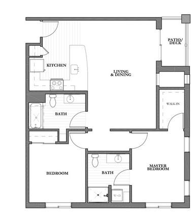 Mountain Park Senior Living floor plan 2