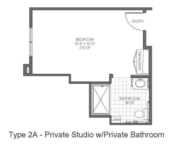 Catalina Springs Memory Care floor plan 2