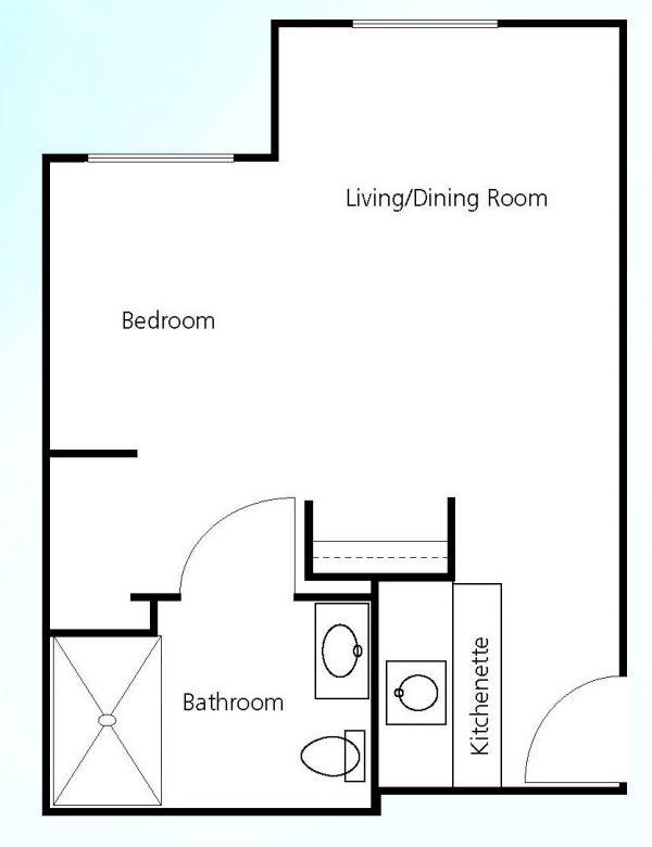 Prestige Assisted Living at Green Valley floor plan 2