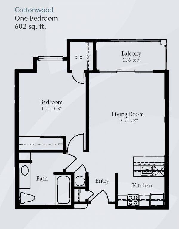 Brookdale Santa Catalina floor plan 2