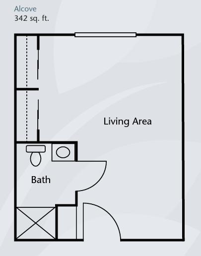 Brookdale Tanglewood Oaks floor plan 2