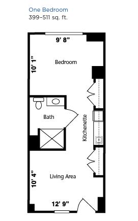 Brookdale West Hartford floor plan 2