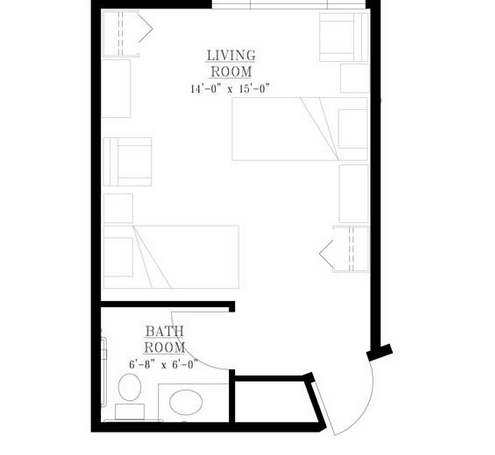 Skyline Place floor plan 2