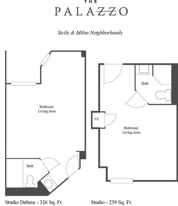 The Palazzo floor plan 3