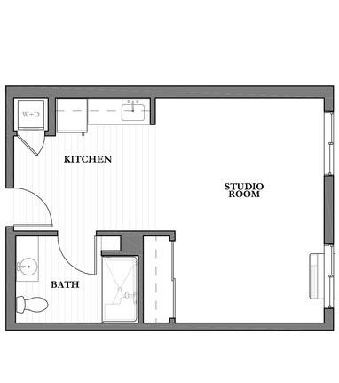 Mountain Park Senior Living floor plan 3