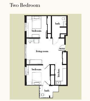 Atria Grapevine floor plan 3