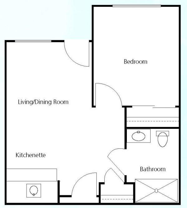 Prestige Assisted Living at Green Valley floor plan 3