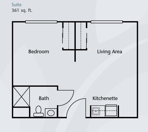 Brookdale Tanglewood Oaks floor plan 3