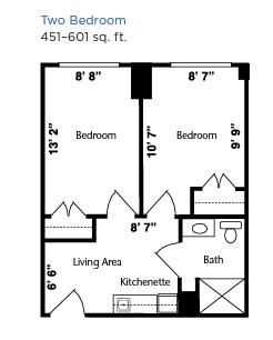Brookdale West Hartford floor plan 3