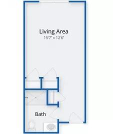 The Village at Kensington Place floor plan 3
