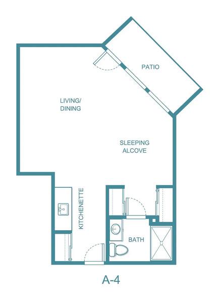 Apple Blossom floor plan 4