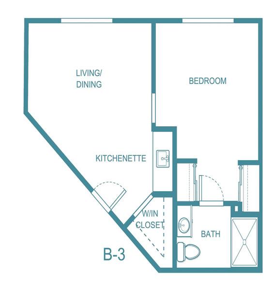 The Gardens at Arkanshire floor plan 4