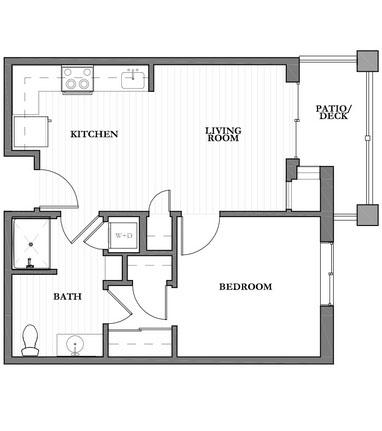 Mountain Park Senior Living floor plan 4