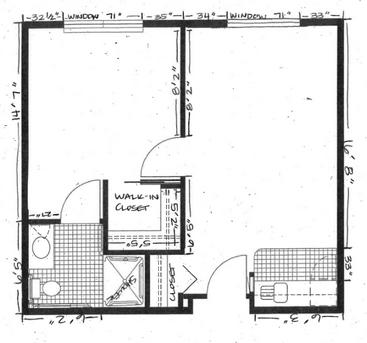 Skyline Place floor plan 4