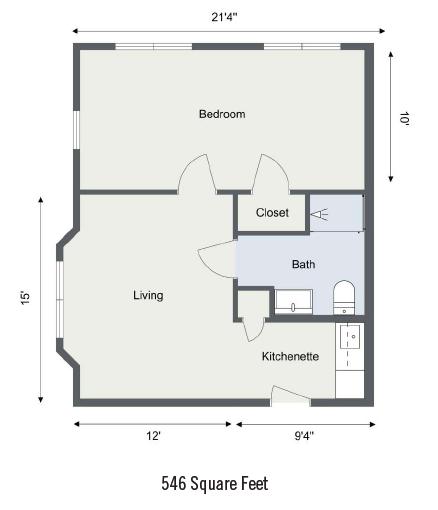 Cape Cod Senior Residences floor plan 4