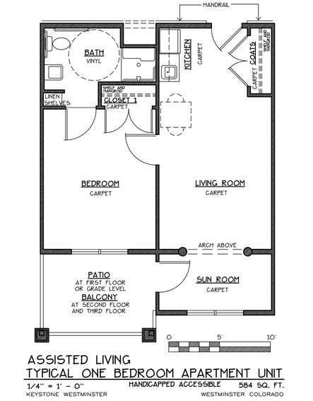 Keystone Place at Legacy Ridge floor plan 4