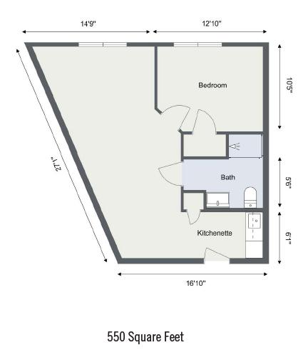 Cape Cod Senior Residences floor plan 5