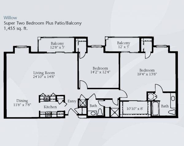 Brookdale Santa Catalina floor plan 7