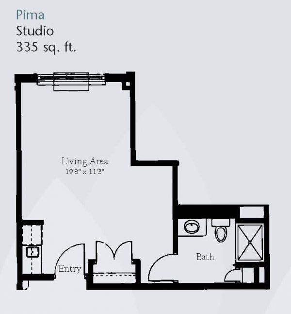 Brookdale Santa Catalina floor plan 8
