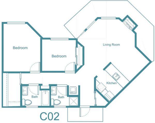 The Gardens at Arkanshire floor plan 8