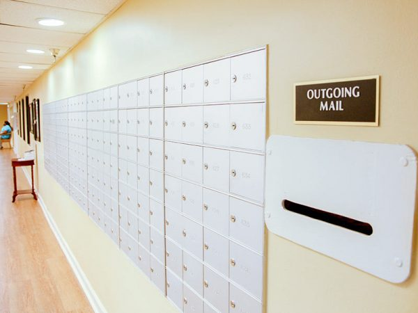 Regency Retirement Village - Huntsville community mailboxes