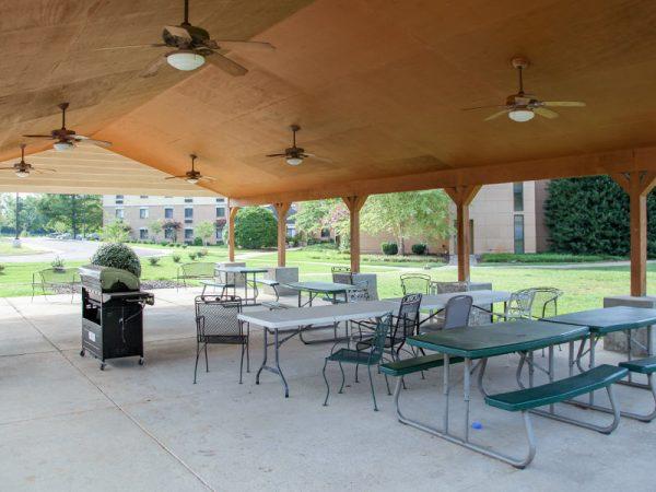 Outdoor pavillion on the grounds of Regency Retirement Village - Huntsville