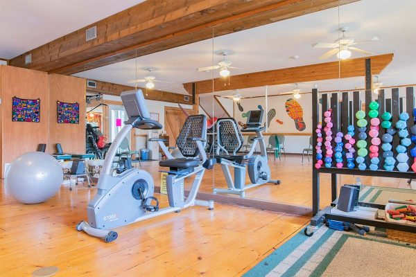 Rehab and exercise equipment in Homestead Village of Fairhope