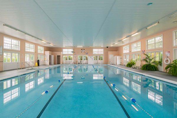 Indoor swimming pool in Homestead Village of Fairhope