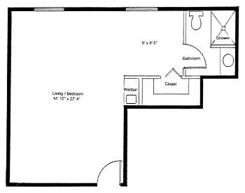 Homestead Village of Fairhope huntingdon king studio floor plan