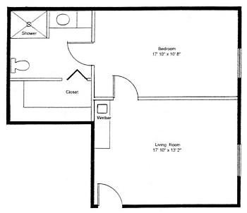 Homestead Village of Fairhope huntingdon large suite floor plan